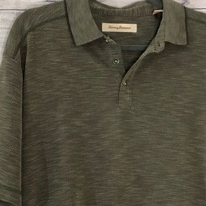 Tommy Bahama Green Polo Large Short Sleeve